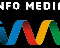 Logo Info Media alb