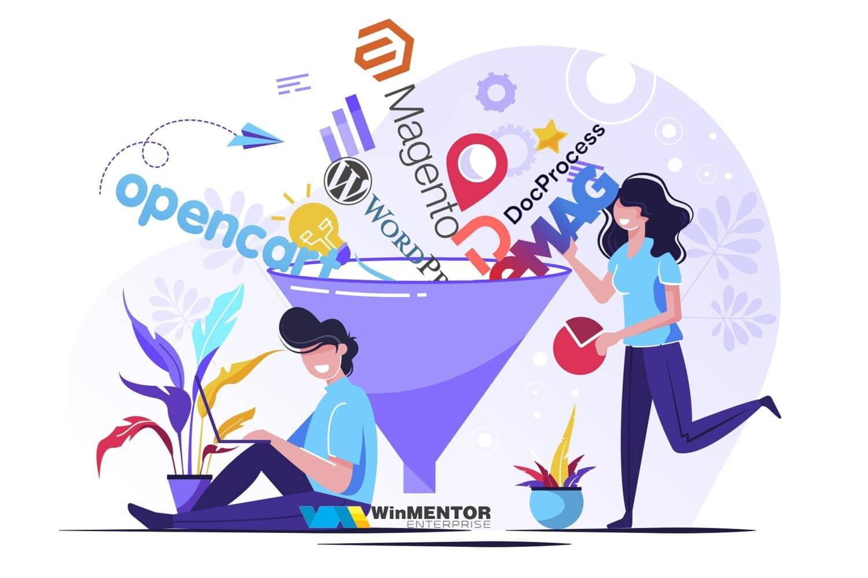 conectori InfoMedia - Interconectarea programului de contabilitate cu platformele cele mai uzuale unde ai un magazin virtual pentru a prelua articole, comenzi si actualizare stocuri si preturi.